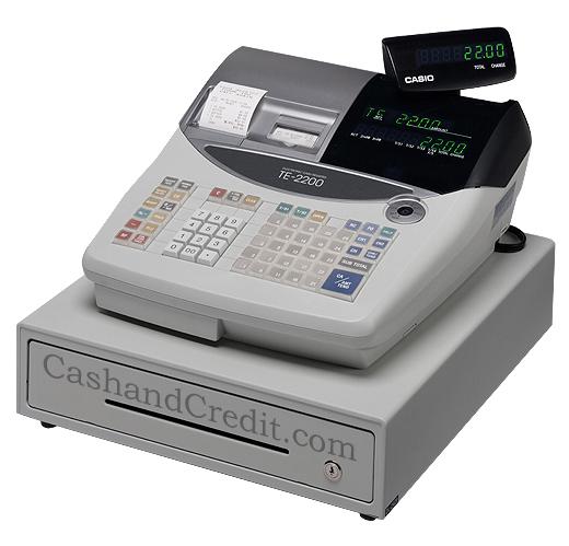 Casio Te 2200 Cash Register
