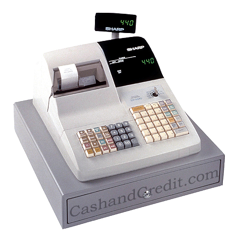 Sharp Er A440 Cash Register