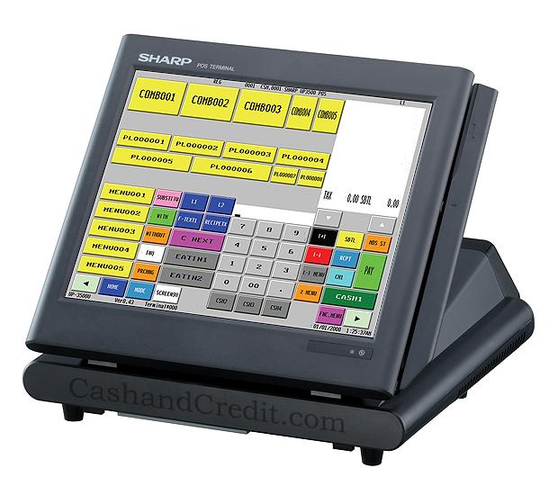 Sharp Up 3500 Cash Register Sharp Up 3500 Pos