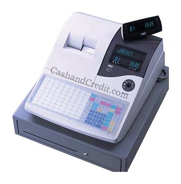 Tec Fs 1535 Cash Register Flat Keyboard