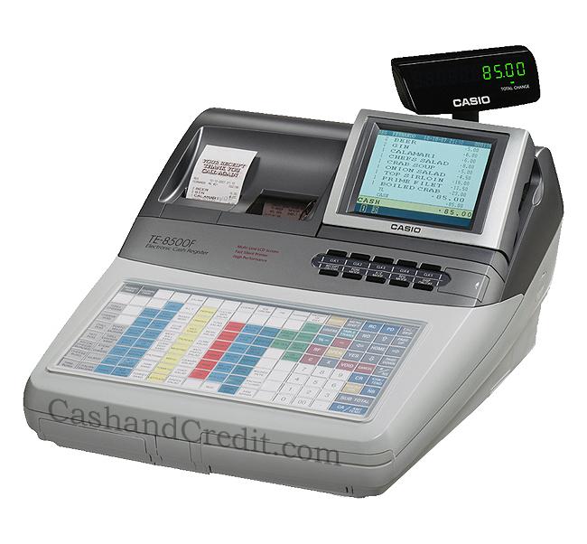 Casio Te 8500f Cash Register